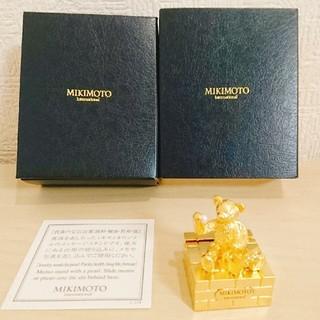 ミキモト(MIKIMOTO)のミキモト☆真珠☆メッセージスタンド(置物)