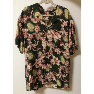 キャリー(CALEE)の夏物 calee キャリー 半袖シャツ アロハシャツ Tシャツ XL(シャツ)
