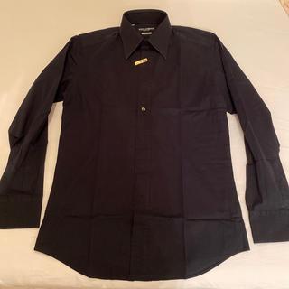 ドルチェアンドガッバーナ(DOLCE&GABBANA)のDOLCE&GABBANA 黒シャツ 素敵シャツ(シャツ)