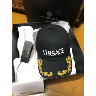 ヴェルサーチ(VERSACE)の【新品】20SS ヴェルサーチェ 刺繍キャップ58(キャップ)