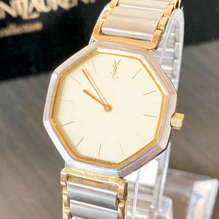 サンローラン(Saint Laurent)の稼働品 電池新品 イヴ・サンローラン YSL  腕時計 レディース 美品(腕時計)