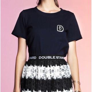 ダブルスタンダードクロージング(DOUBLE STANDARD CLOTHING)の❣️人気❣️割引❣️ダブスタ フライスDロゴTシャツ(Tシャツ(半袖/袖なし))