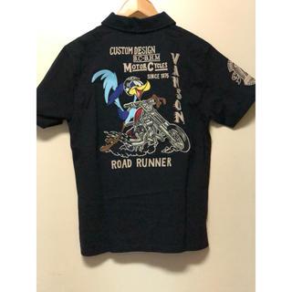 バンソン(VANSON)のバンソンLOONEY TUNES 刺繍ポロシャツ 新品格安セール❗️(Tシャツ/カットソー(半袖/袖なし))