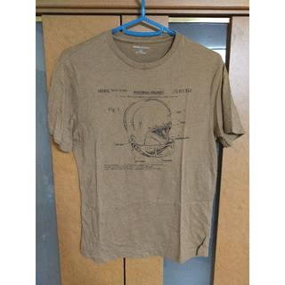 バナナリパブリック(Banana Republic)の【売り尽くし】BANANA REPUBLIC アメフトメット Tシャツ ブラウン(Tシャツ/カットソー(半袖/袖なし))