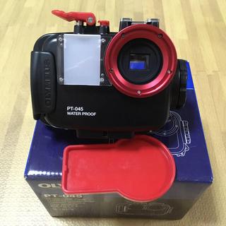 オリンパス(OLYMPUS)のOLYMPUS オリンパス PT-045 μ tough-8000セット(コンパクトデジタルカメラ)