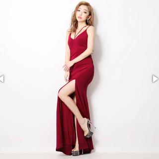 デイジーストア(dazzy store)の赤ロングドレス(ロングドレス)