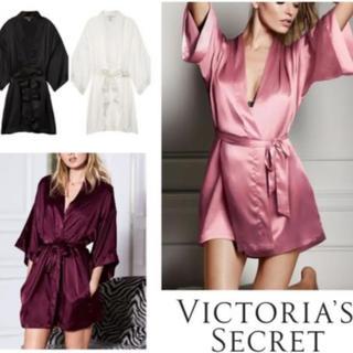 ヴィクトリアズシークレット(Victoria's Secret)のVictoria's Secret サテンウェア ブラック(ルームウェア)