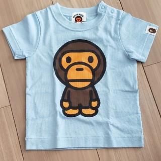 アベイシングエイプ(A BATHING APE)のa bathing ape マイロくん Tシャツ 70 キッズ ベビー(Tシャツ)