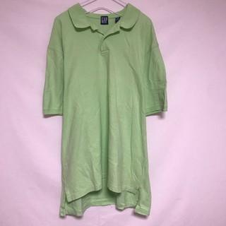 ギャップ(GAP)のオールドギャップ ポロシャツ 鹿の子 ピスタチオカラー オーバーサイズ ビック(ポロシャツ)
