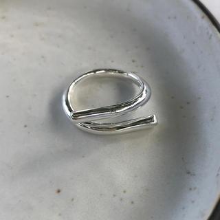 アリシアスタン(ALEXIA STAM)のsimple smooth ring starling silver 925(リング(指輪))