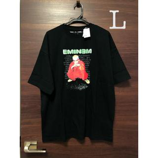 ウィゴー(WEGO)の未使用タグ付 ウィゴー WEGO エミネム  tシャツ L(Tシャツ/カットソー(半袖/袖なし))