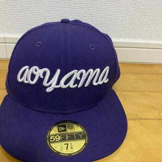 ニューエラー(NEW ERA)のMR.GENTLEMAN x NEW ERA (aoyama cap)(キャップ)
