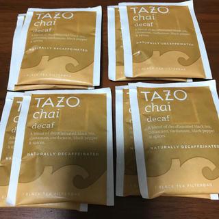 Starbucks Coffee - TAZO TEA CHAI decaf