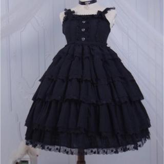 アンジェリックプリティー(Angelic Pretty)の lolita ジャンパースカート最終値下げ(ひざ丈ワンピース)