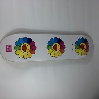 メディコムトイ(MEDICOM TOY)の村上隆 スケートボード☆限定品☆  (スケートボード)