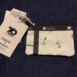 レスポートサック(LeSportsac)のピーナッツ スヌーピー SNOOPY レスポートサック パスケース コインケース(パスケース/IDカードホルダー)