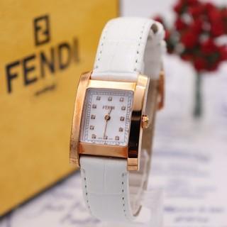 フェンディ(FENDI)の付属品付き【新品電池】FENDI 7000L/ダイヤ12P ピンクゴールド 動作(腕時計)