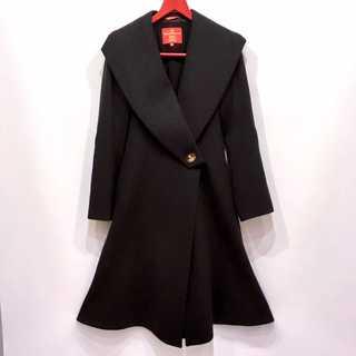 ヴィヴィアンウエストウッド(Vivienne Westwood)の極美品 ヴィヴィアンウエストウッド カシミア混 ウール ロング コート イタリア(ロングコート)