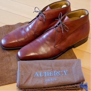 オーベルシー(AUBERCY)のAUBERCY オーベルシー チャッカブーツ Size 8 / 26.5~cm位(ドレス/ビジネス)