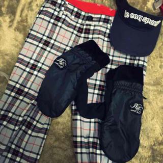 ゴルフ ミトン❤︎再値下(手袋)