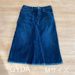 ジェイダ(GYDA)のGYDA デニムスカート Mサイズ(ひざ丈スカート)