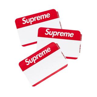 シュプリーム(Supreme)のsupreme Name Badge Stickers バラ売り 25枚(その他)