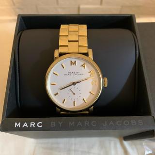 マークバイマークジェイコブス(MARC BY MARC JACOBS)のマークジェイコブス 腕時計 アナログ ゴールド(腕時計)