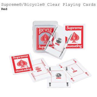 シュプリーム(Supreme)のSupreme Bicycle Clear Playing Cards トランプ(その他)