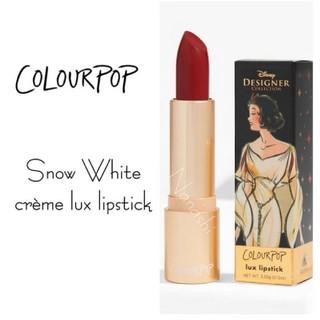 カラーポップ(colourpop)の【colour pop】Disney snow white  lipstick(口紅)