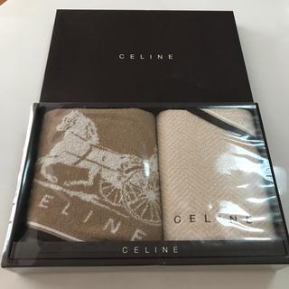 セリーヌ(celine)のセリーヌフェイスタオル 2枚セット 34×75㌢ 綿100%(タオル/バス用品)