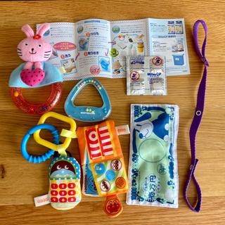 ミキハウス(mikihouse)の赤ちゃんのおもちゃ まとめ売り(がらがら/ラトル)