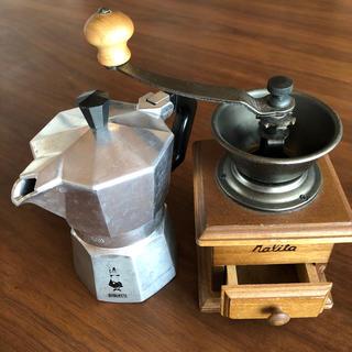 最終値下げBIALETTIエスプレッソメーカー&KALITAコーヒーミル(その他)