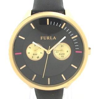 フルラ(Furla)のフルラ 腕時計美品  - 4251102501-54811 黒(腕時計)