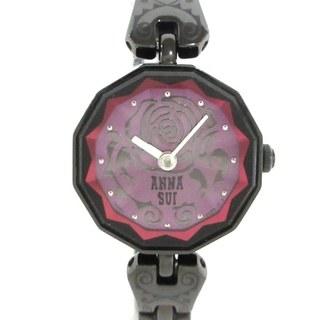アナスイ(ANNA SUI)のアナスイ 腕時計美品  - 1N00-0PJ0 ピンク(腕時計)