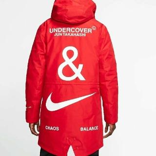 アンダーカバー(UNDERCOVER)のNIKE under cover Red L フィッシュ テール パーカー(その他)