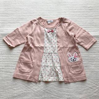 サンカンシオン(3can4on)の七部袖カットソー Tシャツ(Tシャツ)