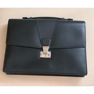 カルティエ(Cartier)のカルティエ 革製スリムブリーフケース(ビジネスバッグ)