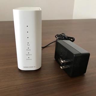 エヌイーシー(NEC)のhome02 ホームルーター(PC周辺機器)