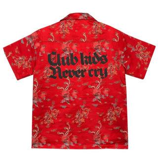 ジョンローレンスサリバン(JOHN LAWRENCE SULLIVAN)のYOIKADAKADA オープンカラーシャツ アロハシャツ(シャツ)