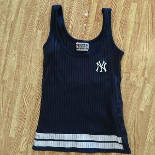 エルビーゼロスリー(LB-03)のニューヨークヤンキース タンクトップ🙋(Tシャツ(半袖/袖なし))