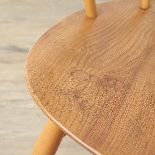 IDEE(イデー)の専用 アーコール ERCOL スモーカーズチェア カウホーン ビンテージ  インテリア/住まい/日用品の椅子/チェア(ダイニングチェア)の商品写真
