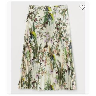 エイチアンドエム(H&M)のsale💖今季タグ付◆H&M◆ミモレ丈プリーツスカート(ロングスカート)