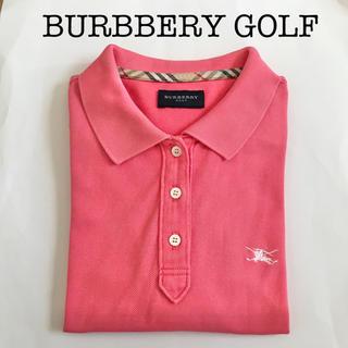 バーバリー(BURBERRY)の【お得!】バーバリーゴルフ レディース ポロシャツ M(ウエア)