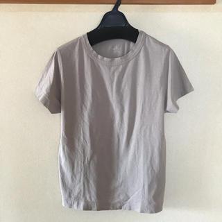フォーティーファイブアールピーエム(45rpm)の45R  モカ色無地 Tシャツ(サイズ3)未使用品(Tシャツ(半袖/袖なし))