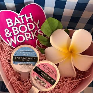 バスアンドボディーワークス(Bath & Body Works)の♡BBWカーフレグランス レフィル二個セット♡(車内アクセサリ)