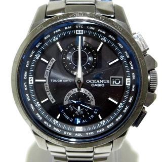 CASIO - カシオ 腕時計 オシアナス 0CW-T1000 黒