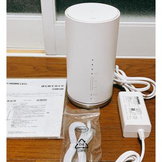 エーユー(au)の美品✨Speed Wi-Fi HOME L01sホームルーター(PC周辺機器)