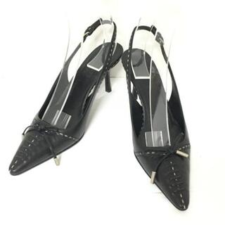 ジルサンダー(Jil Sander)のジルサンダー サンダル 35 レディース 黒(サンダル)