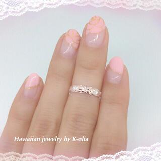 ハワジュ☆ピンクスキニートゥリング(リング(指輪))
