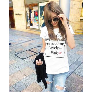 レディー(Rady)のRady❤︎box For  You Tシャツ(Tシャツ(半袖/袖なし))